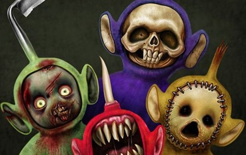 scary teletubbies